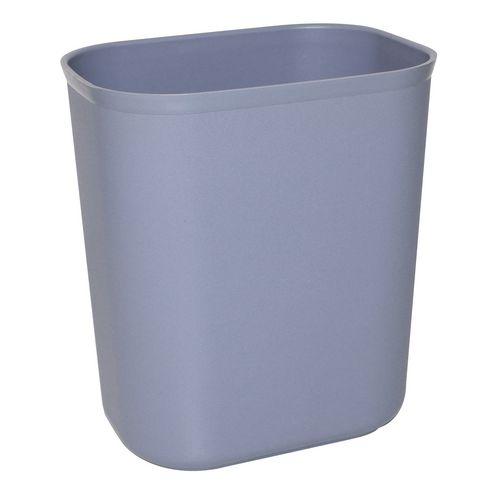 Stainless steel bin clearing trolley accessories - 6L waste bin only