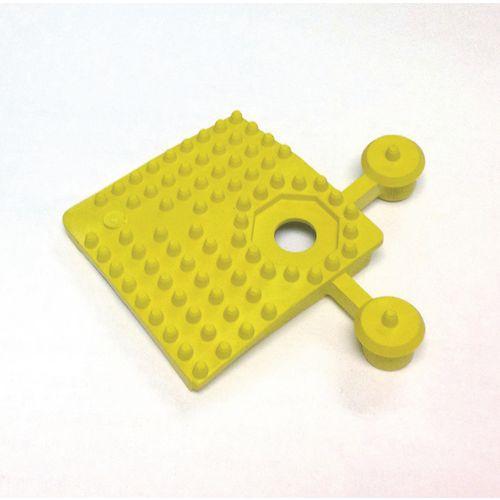 Heavy duty PVC open-grid interlocking flooring - Corner pieces
