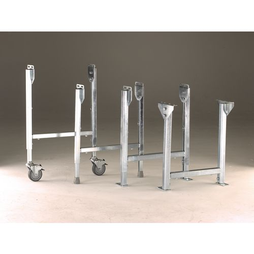Stands - Stands complete with 100mm dia. braked castors