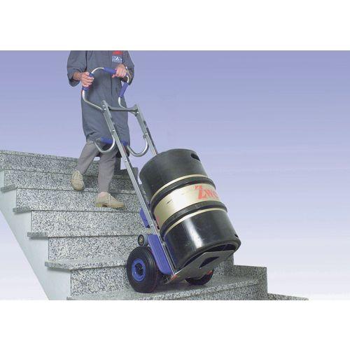 Lightweight powered stairclimber