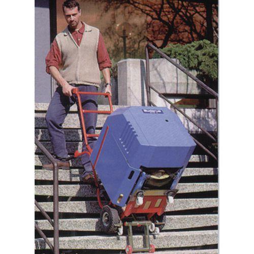 Tubular steel powered stairclimber