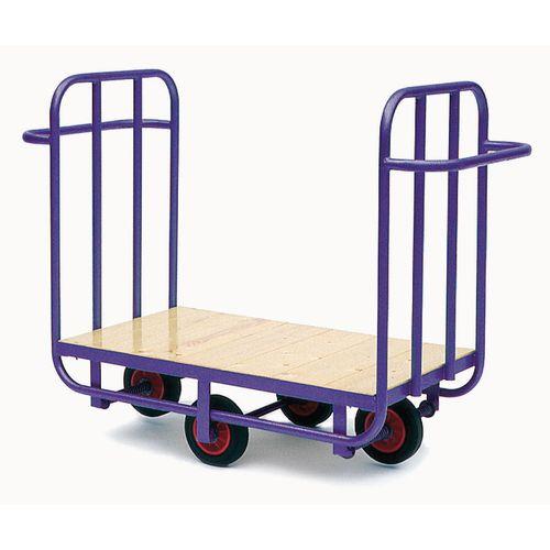 Sliding wheel platform trucks
