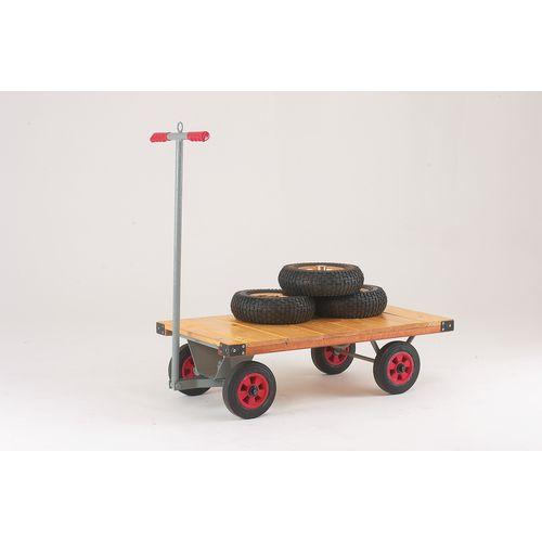 Lightweight platform trucks