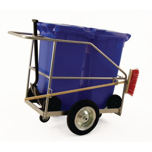 Street cleaning trolley - Double street orderly