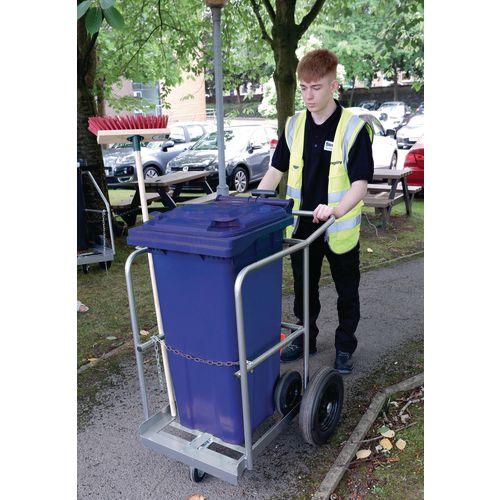 Street cleaning trolley - Single street orderly