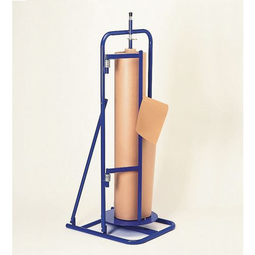 Vertical paper roll rollers
