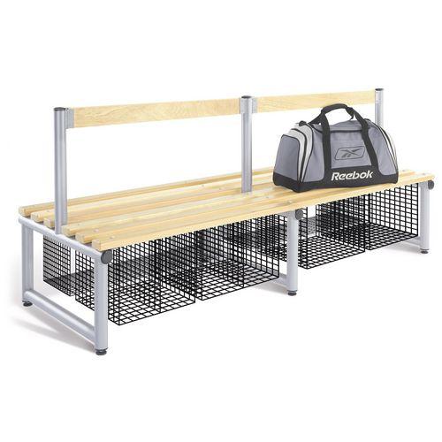 Probe round tube cloakroom equipment - Storage/shoe baskets