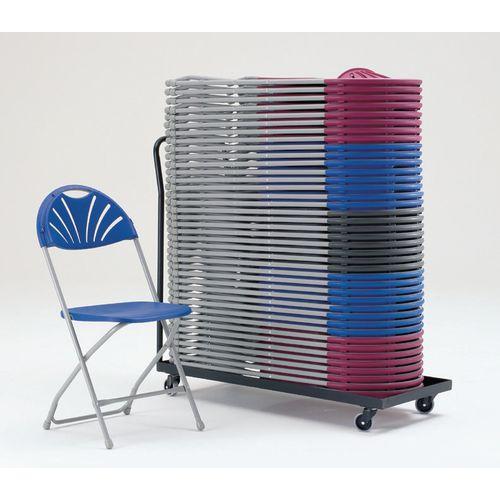 Polypropylene folding chairs