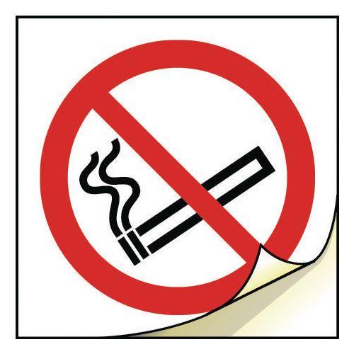 General safety labels - No smoking