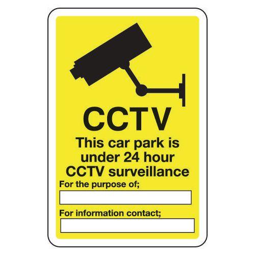 CCTV this car park is under 24 hour CCTV surveillance