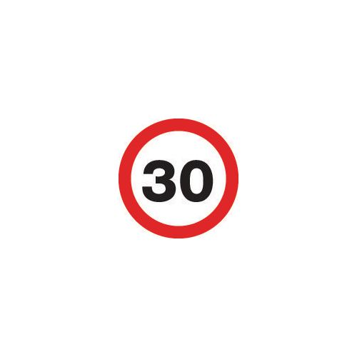 Road traffic signs - 30 MPH