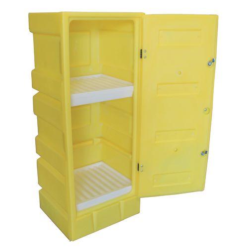 Hazardous substance storage cabinets