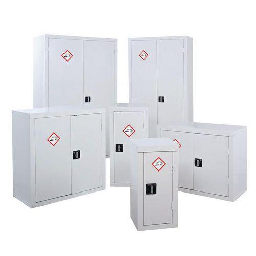 Acid and alkali storage cabinets