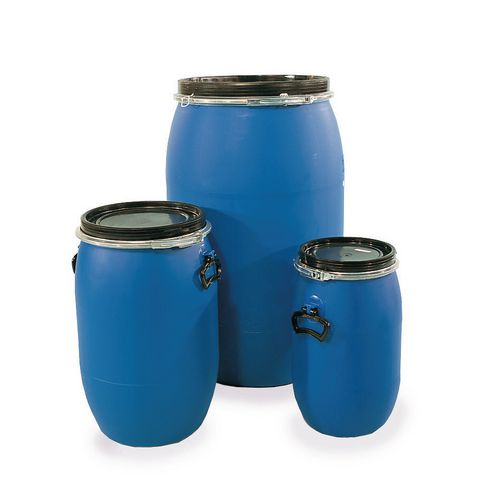 Open top polyethylene drums