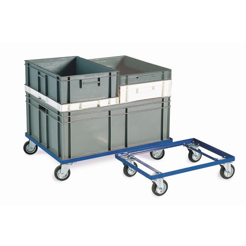 Large steel dolly with 800 x 600mm platform