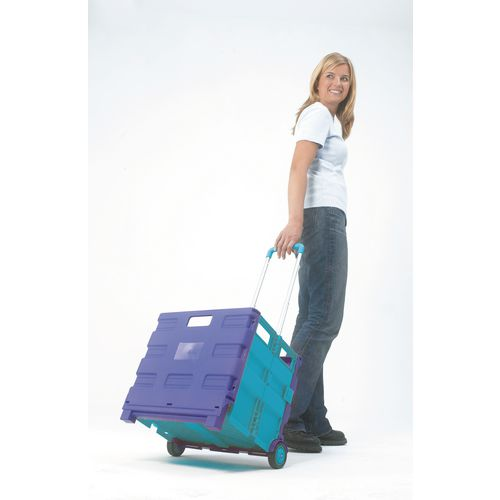 Lightweight container trolleys - 25kg capacity