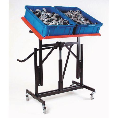 Tilt tables - adjustable workstands