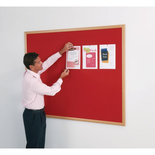 Eco friendly office noticeboards