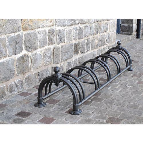 Victoriana floor mounted cycle rack