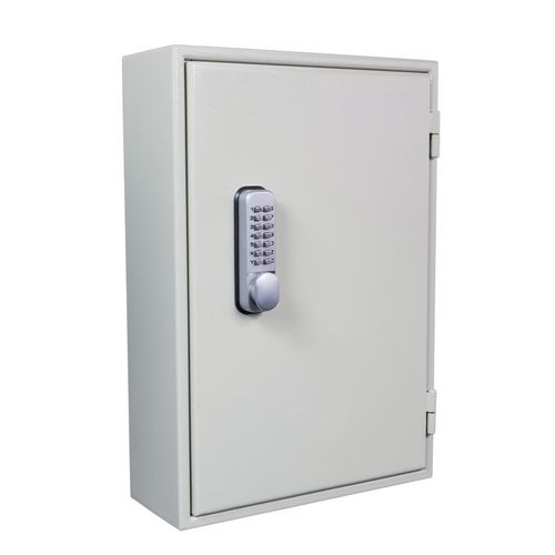 High security combination cabinet for large bunches and padlocks