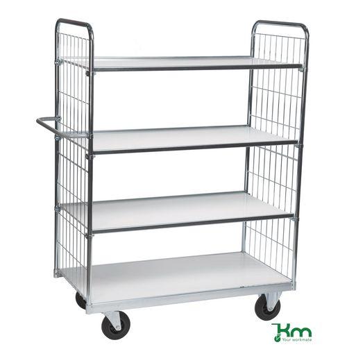 Konga large adjustable trolleys