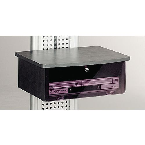 LCD and plasma mobile stand - black cabinet