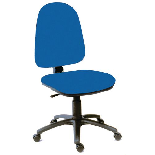 High back PC operator chair