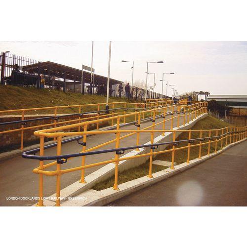 Metal clamp systems - Tubular rails