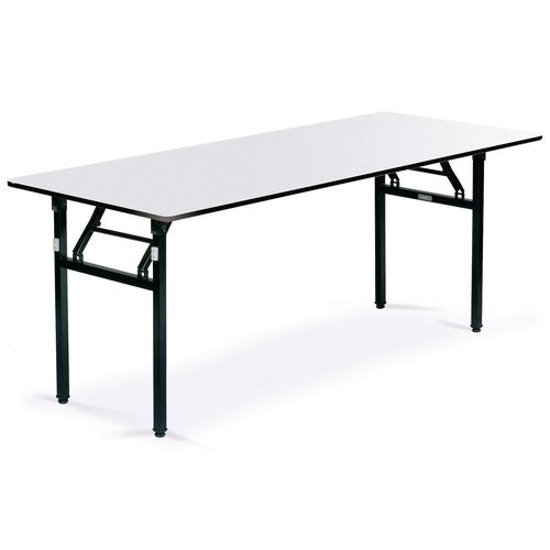 Soft top folding banqueting tables