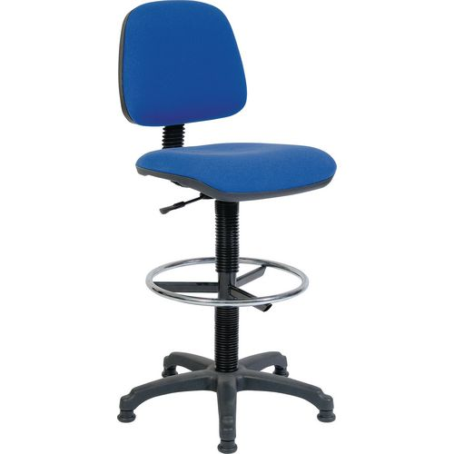 Medium back draughter chair