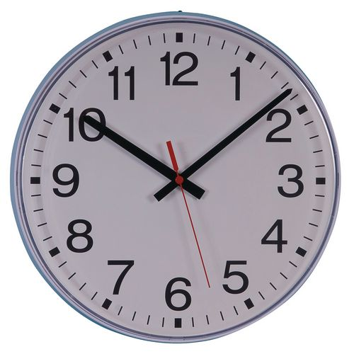 Commercial silent movement wall clocks