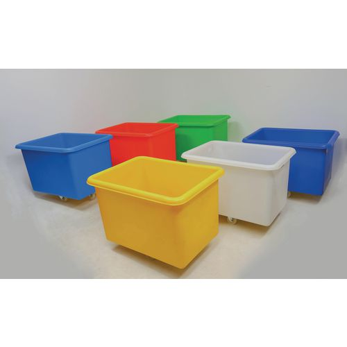 300 Litre tapered plastic container trucks