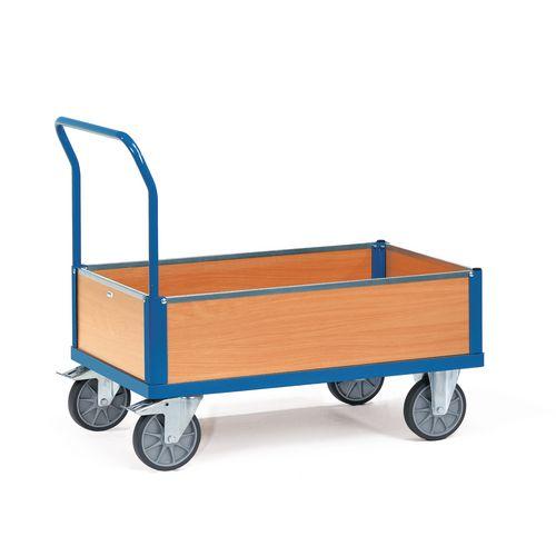 Fetra low box platform trucks