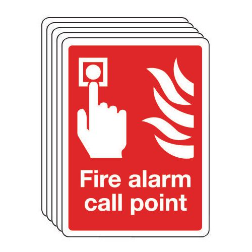 Fire alarm call point - multi-pack of 5
