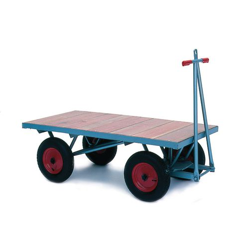 Heavy duty platform trucks, flat platform
