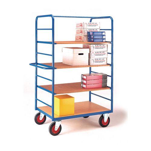 Open shelf trolleys