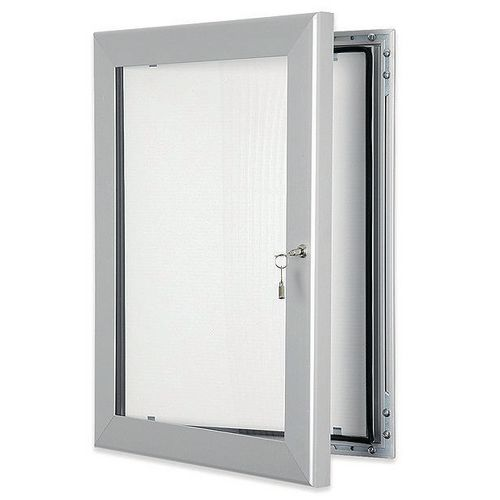 Aluminium frame external noticeboard