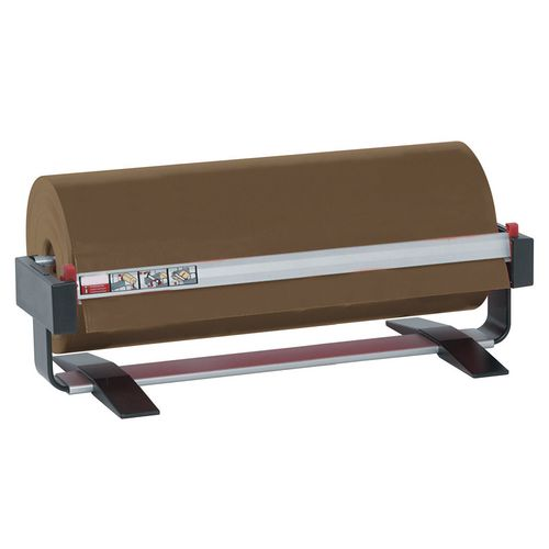 Bench top paper roll dispensers