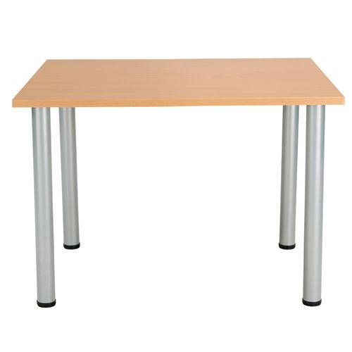 Circular rectangular table
