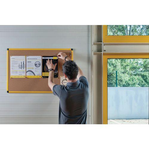 Industrial ultrabrite cork noticeboard