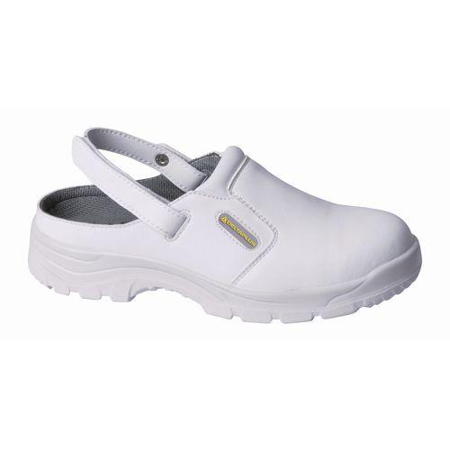 White safety clog