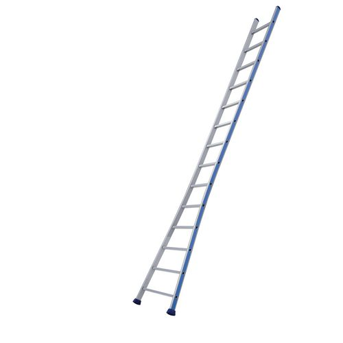 Single section splayed base ladders