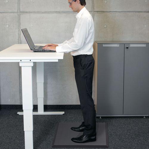 Anti-fatigue desk mats