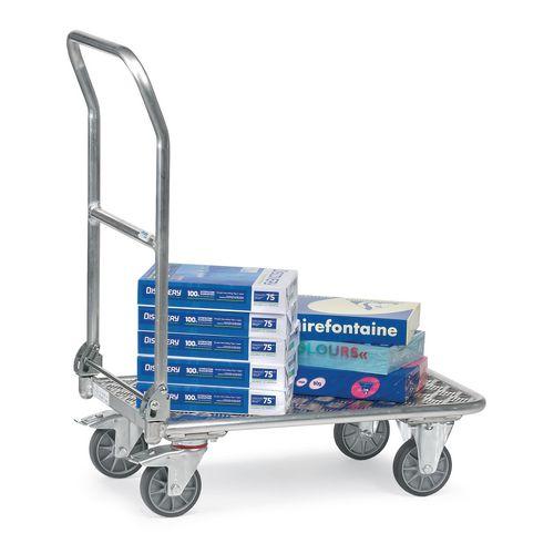 Fetra aluminium folding platform trucks