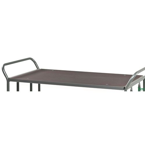 Konga heavy duty platform truck - table top and end panel