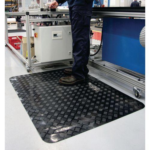 ESD anti-fatigue slip-resistant matting