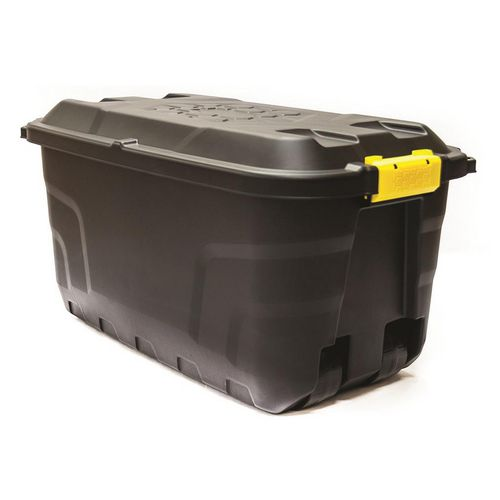 Wheeled heavy duty storage containers