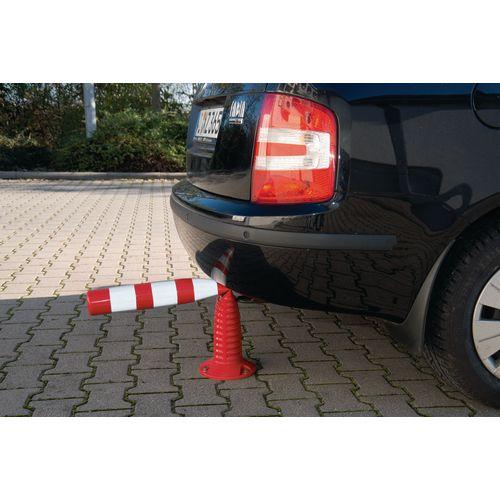 Flexible traffic post