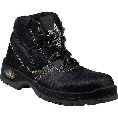 Black safety boots S1P SRC