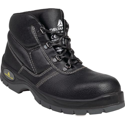 Black safety boots